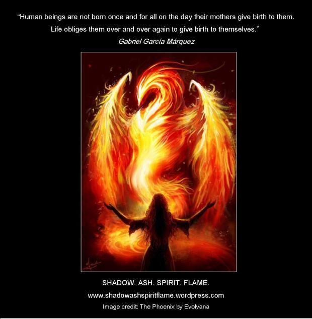 Shadow.Ash.Spirit.Flame. - Gabriel García Márquez